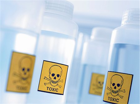 poison - Bottles with toxic labels Stock Photo - Premium Royalty-Free, Code: 635-03229109
