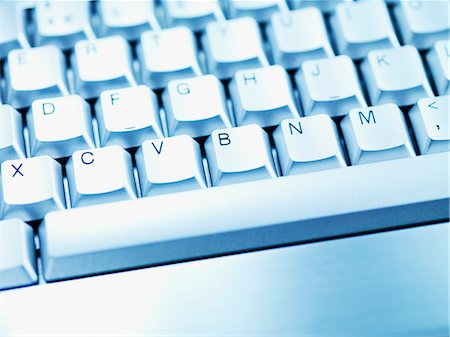 Computer keyboard space bar Stock Photo - Premium Royalty-Free, Code: 635-03372871
