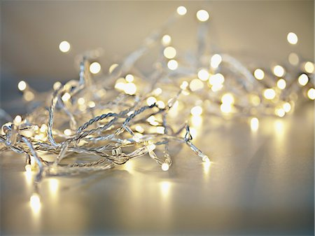 sparkling - Pile of illuminated string lights Stock Photo - Premium Royalty-Free, Code: 635-03373024