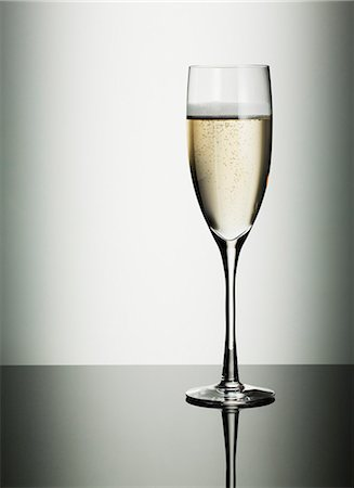 sparkling - Glass of champagne Stock Photo - Premium Royalty-Free, Code: 635-03441606