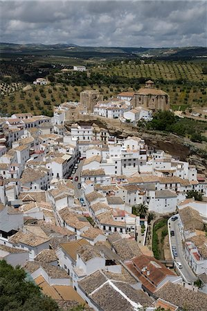 White Village, Andalucia, spain Stock Photo - Premium Royalty-Free, Code: 635-03457661