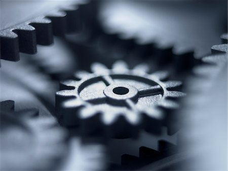 Close up of metal cogs Stock Photo - Premium Royalty-Free, Code: 635-03577972
