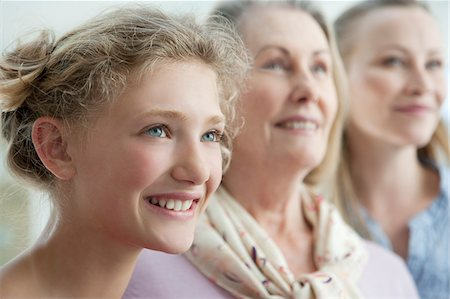 Smiling grandmother, mother and daughter Stock Photo - Premium Royalty-Free, Code: 635-03578046