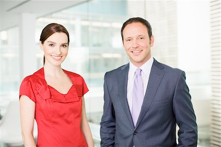 Smiling business people Stock Photo - Premium Royalty-Free, Code: 635-03642095