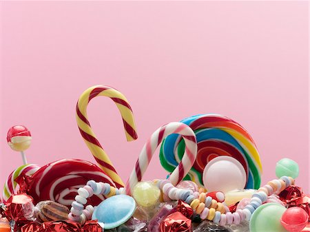 Variety of sweet candies Stock Photo - Premium Royalty-Free, Code: 635-03752885