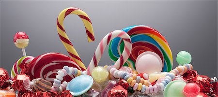 Variety of sweet candies Stock Photo - Premium Royalty-Free, Code: 635-03752887