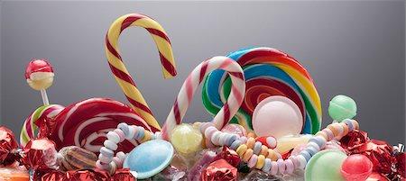 Variety of sweet candies Stock Photo - Premium Royalty-Free, Code: 635-03752887