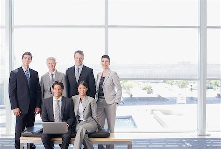 Business people together in office Stock Photo - Premium Royalty-Free, Code: 635-03781838