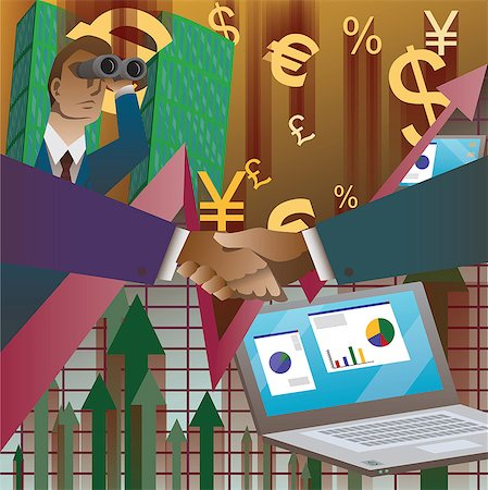Business agreement Stock Photo - Premium Royalty-Free, Code: 630-06724179