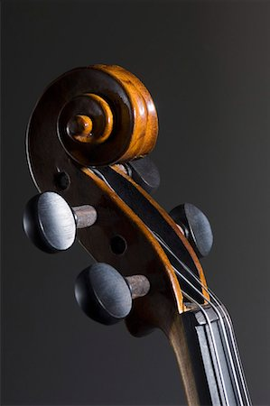 scroll (design) - Close-up of a violin Stock Photo - Premium Royalty-Free, Code: 630-01709807