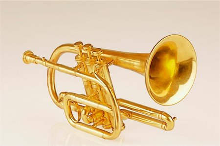 Close-up of a trumpet Stock Photo - Premium Royalty-Free, Code: 630-01876087
