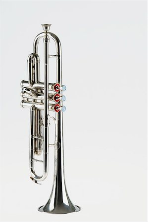 Close-up of a trumpet Stock Photo - Premium Royalty-Free, Code: 630-01876098
