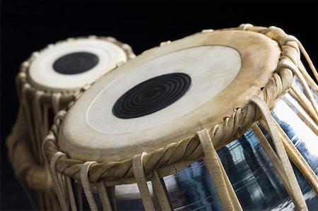 Close-up of two tablas Stock Photo - Premium Royalty-Free, Code: 630-01876220