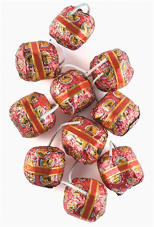 fireworks white background - Close-up of bombs Stock Photo - Premium Royalty-Free, Code: 630-03480125