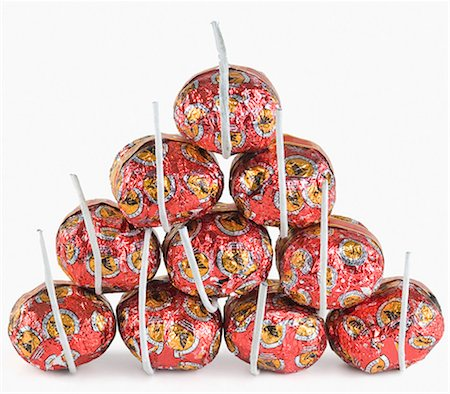 fireworks white background - Close-up of bombs Stock Photo - Premium Royalty-Free, Code: 630-03480127
