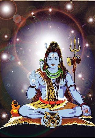 Hindu god Shiva Stock Photo - Premium Royalty-Free, Code: 630-03482179