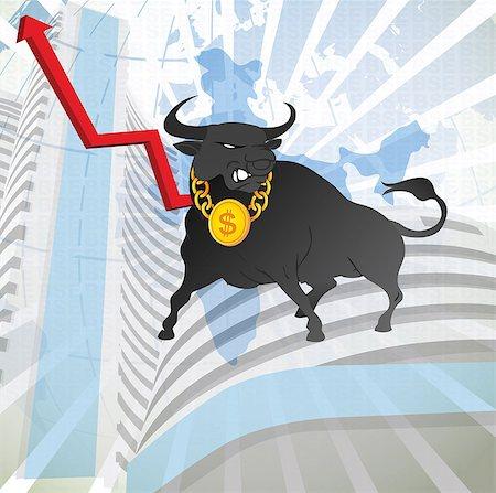 stock exchange building - Bull with uprise arrow sign in front of a stock exchange, Bombay Stock Exchange, Mumbai, Maharashtra, India Stock Photo - Premium Royalty-Free, Code: 630-03482372