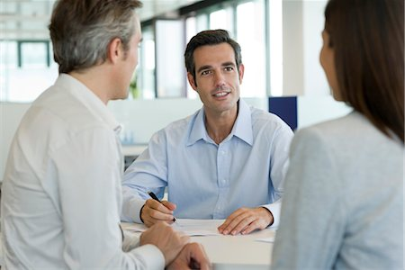 Businessman meeting with client Stock Photo - Premium Royalty-Free, Code: 632-05401011