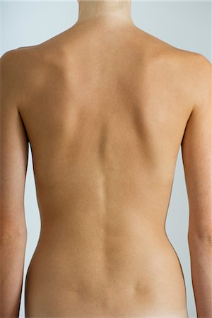 slim - Woman's naked back, mid section Stock Photo - Premium Royalty-Free, Code: 632-05759715