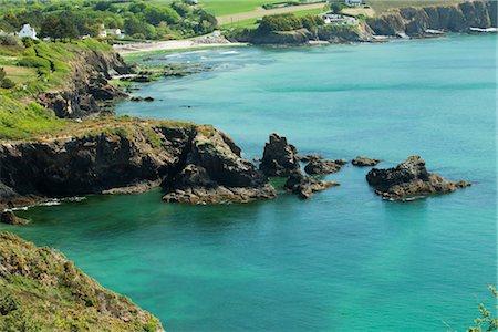 Crozon Peninsula, Finistère, Brittany, France Stock Photo - Premium Royalty-Free, Code: 632-05759883