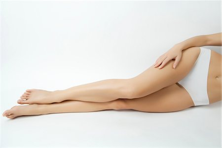 Woman's bare legs Stock Photo - Premium Royalty-Free, Code: 632-05816155