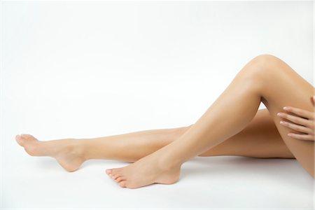 Woman's bare legs Stock Photo - Premium Royalty-Free, Code: 632-05816278