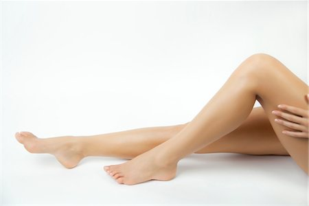 Woman's bare legs Stock Photo - Premium Royalty-Free, Code: 632-05816278