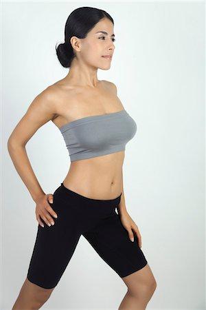 slim - Woman stretching Stock Photo - Premium Royalty-Free, Code: 632-05816597