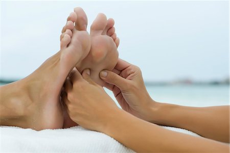 sole - Foot massage Stock Photo - Premium Royalty-Free, Code: 632-05816653
