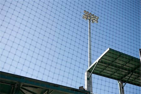 Safety net in stadium, cropped Stock Photo - Premium Royalty-Free, Code: 632-05991735