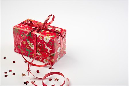 Christmas gift Stock Photo - Premium Royalty-Free, Code: 632-05991823