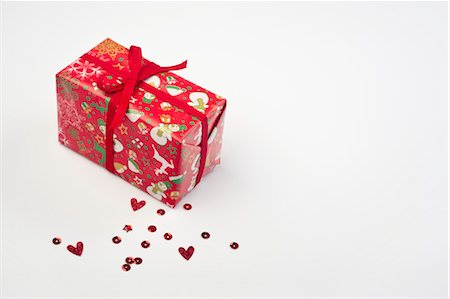 Christmas gift Stock Photo - Premium Royalty-Free, Code: 632-05992158
