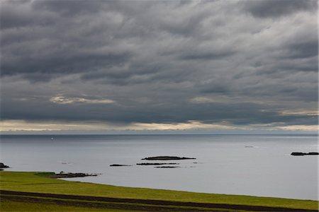 sailing boat storm - Iceland, scenic coastal view Stock Photo - Premium Royalty-Free, Code: 632-06030210