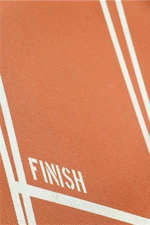 finish line - Running track finish line Stock Photo - Premium Royalty-Free, Code: 632-06118916