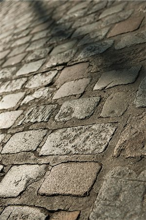 Cobblestone, close-up Stock Photo - Premium Royalty-Free, Code: 632-06317125