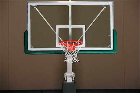 Basketball hoop with backboard Stock Photo - Premium Royalty-Free, Code: 632-06317210