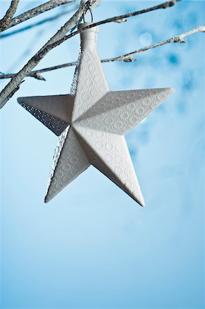 decoration - Star-shaped ornament Stock Photo - Premium Royalty-Free, Code: 632-06354114