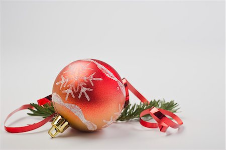 Christmas ornament Stock Photo - Premium Royalty-Free, Code: 632-06354118