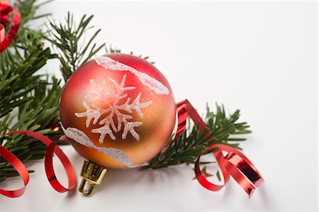 Christmas ornament, close-up Stock Photo - Premium Royalty-Free, Code: 632-06354417