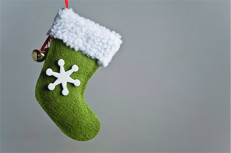 decoration - Christmas stocking ornament Stock Photo - Premium Royalty-Free, Code: 632-06353924
