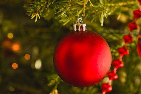 Christmas ornament Stock Photo - Premium Royalty-Free, Code: 632-06404350