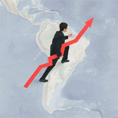 South American economies grow inviting investor confidence Stock Photo - Premium Royalty-Free, Code: 632-06404677