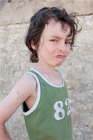 Boy making face Stock Photo - Premium Royalty-Free, Code: 632-06967680