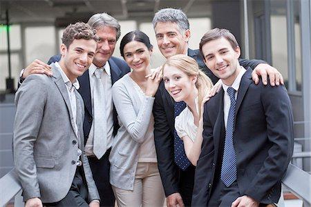 partnership - Business executive team, portrait Stock Photo - Premium Royalty-Free, Code: 632-07674454