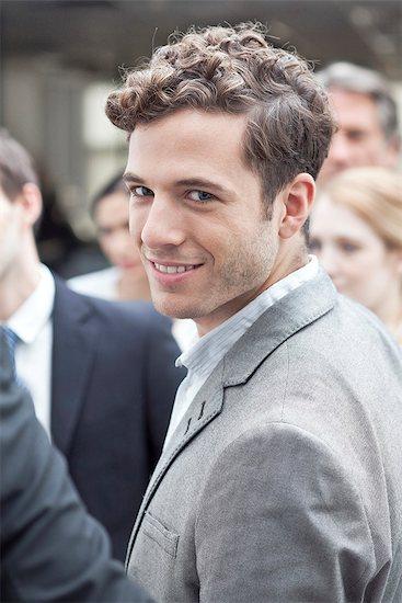 Businessman, portrait Stock Photo - Premium Royalty-Free, Image code: 632-07674588