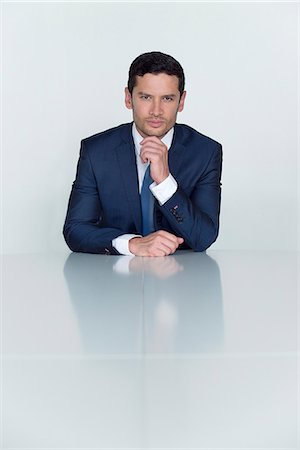Businessman, portrait Stock Photo - Premium Royalty-Free, Code: 632-08001713