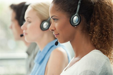Working in call center Stock Photo - Premium Royalty-Free, Code: 632-08001866