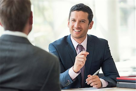 Businessman meeting with client Stock Photo - Premium Royalty-Free, Code: 632-08001901