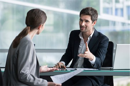 Businessman meeting with client Stock Photo - Premium Royalty-Free, Code: 632-08129936