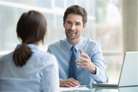 Lawyer meeting with client Stock Photo - Premium Royalty-Free, Code: 632-08227389